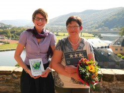 Verleihung der DEHOGA Sterne für das Weinhotel Klostermühle