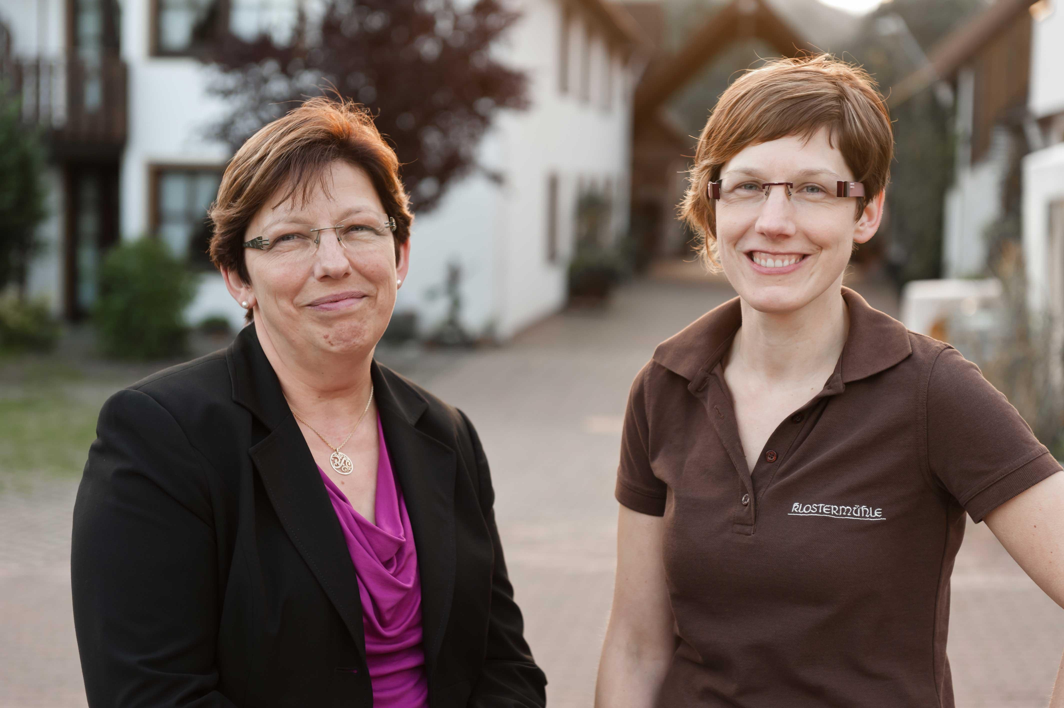 Inhaberin Maria Mangrich und Geschäftsführerin Marion Mangrich