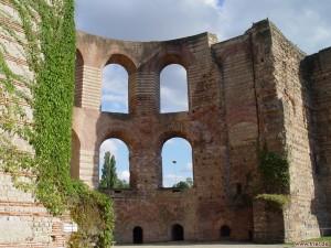 Römische Bauten in Trier