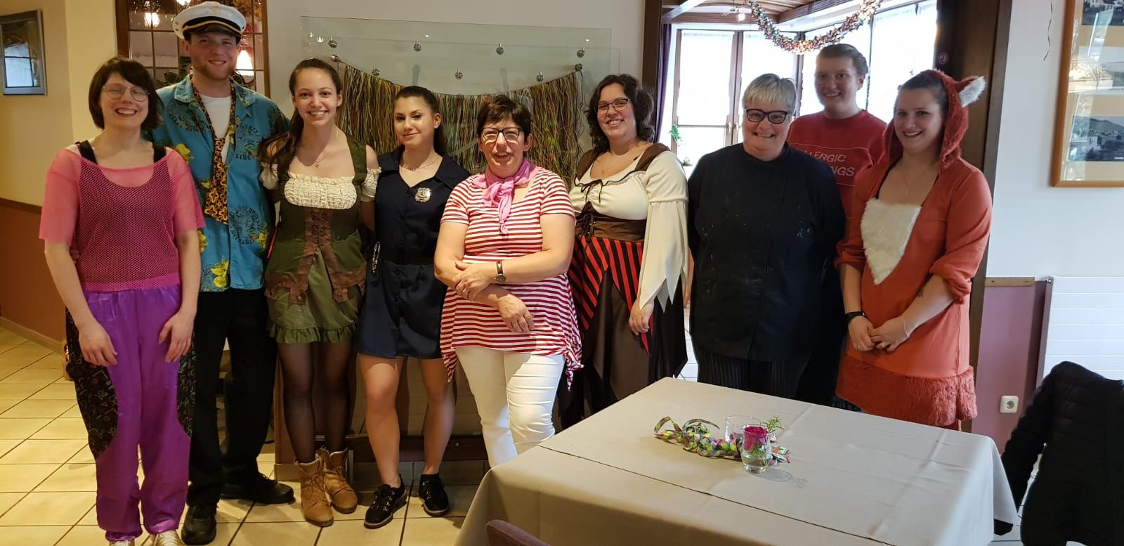 Klostermühle Ockfen Karneval 2020
