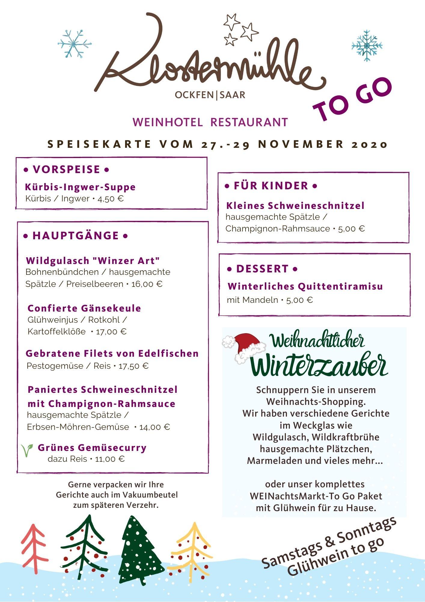 Klostermühle To go